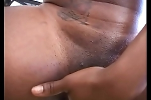 Jet dirty whore splattered with cum